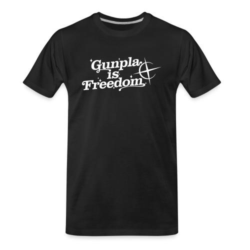 Freedom Men's T-shirt — Banshee Black - Men's Premium Organic T-Shirt