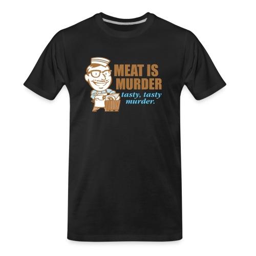 Meat Is Murder - Men's Premium Organic T-Shirt
