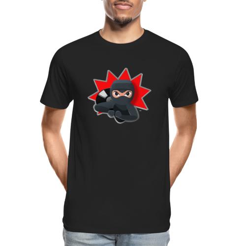 MERACHKA ICON LOGO - Men's Premium Organic T-Shirt