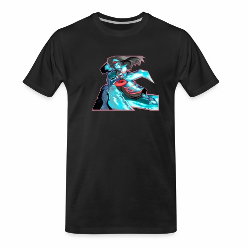 Anime Warrior - Men's Premium Organic T-Shirt