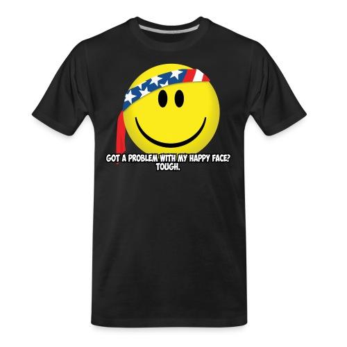 Happy Face USA - Men's Premium Organic T-Shirt