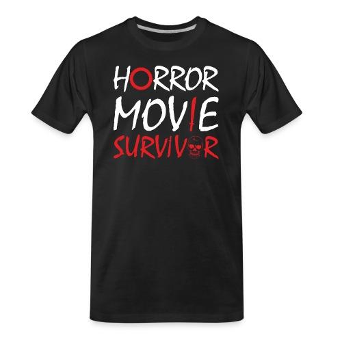 Horror Movie Survivor - Men's Premium Organic T-Shirt
