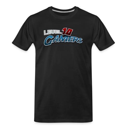 Level10Gamers Logo - Men's Premium Organic T-Shirt