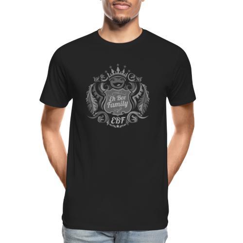 Eh Bee Family - Silver - Men's Premium Organic T-Shirt