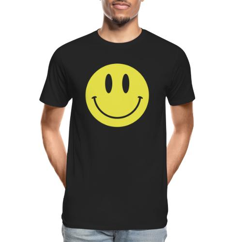 Smiley - Men's Premium Organic T-Shirt