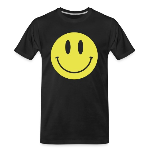Smiley - Men's Premium Organic T-Shirt