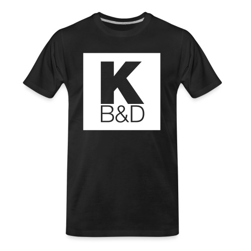KBD_White - Men's Premium Organic T-Shirt