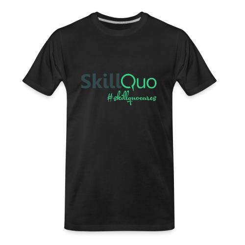 #Skillquocares - Men's Premium Organic T-Shirt