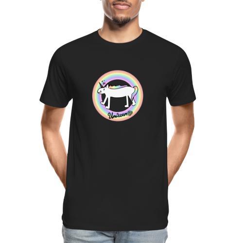 Unicorn Love - Men's Premium Organic T-Shirt