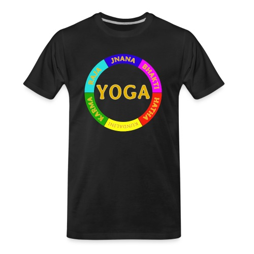 6 ways of Yoga - Men's Premium Organic T-Shirt