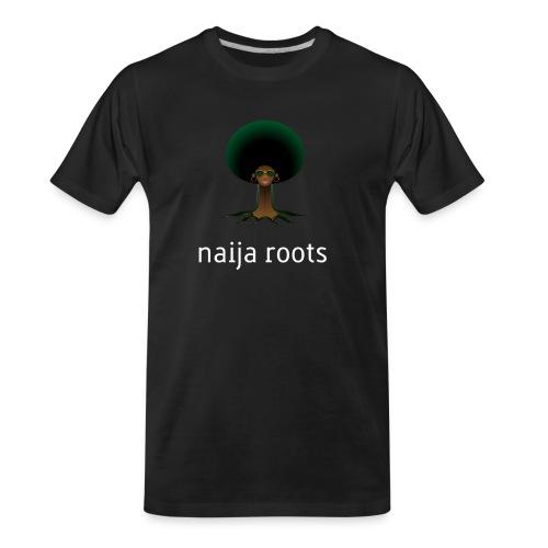 naijaroots - Men's Premium Organic T-Shirt