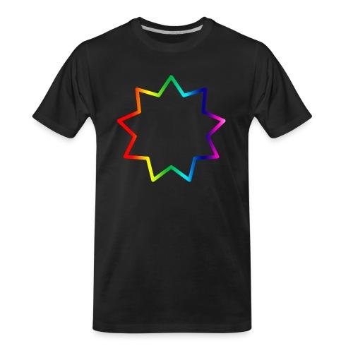 Baha´i rainbow - Men's Premium Organic T-Shirt