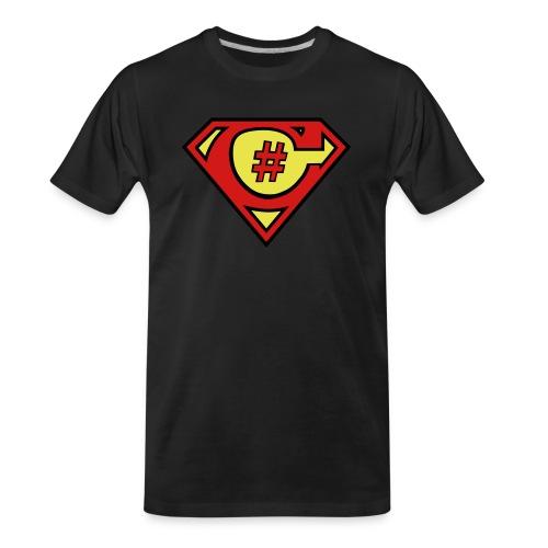 C# Hero Woman - Men's Premium Organic T-Shirt