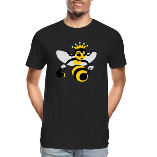Queen Bee - Men's Premium Organic T-Shirt