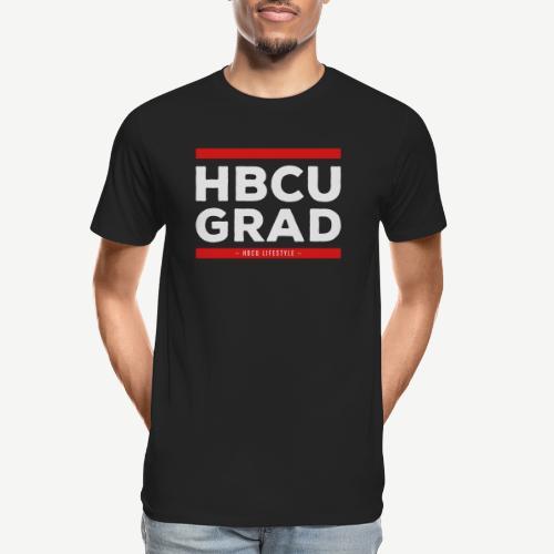 HBCU GRAD - Men's Premium Organic T-Shirt