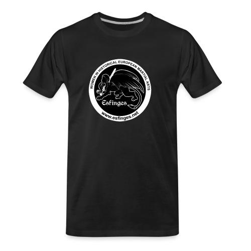 Esfinges Logo Black - Men's Premium Organic T-Shirt