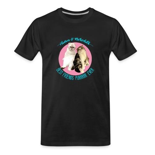 Olivia and Meredith Best Friends - Men's Premium Organic T-Shirt