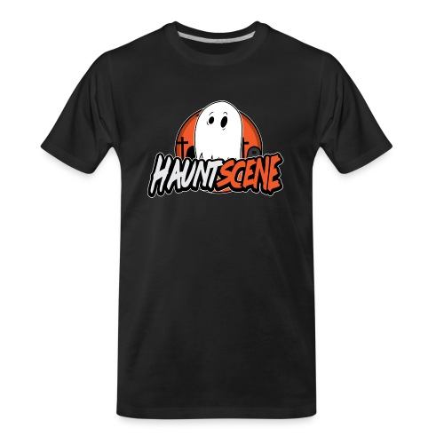 HauntScene Modern Logo 2020 - Men's Premium Organic T-Shirt