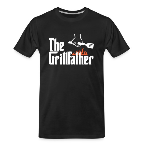 The Grillfather - Men's Premium Organic T-Shirt