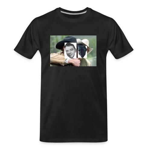 Darien and Curtis Camping Buddies - Men's Premium Organic T-Shirt