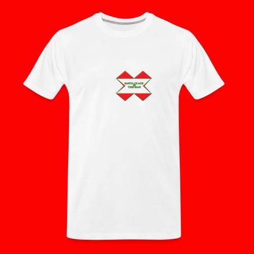 SANTA CLAUS IS THE MAN - Men's Premium Organic T-Shirt