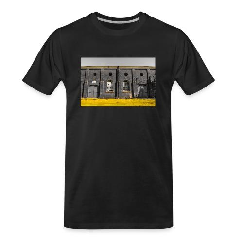 Bricks: who worked here - Men's Premium Organic T-Shirt