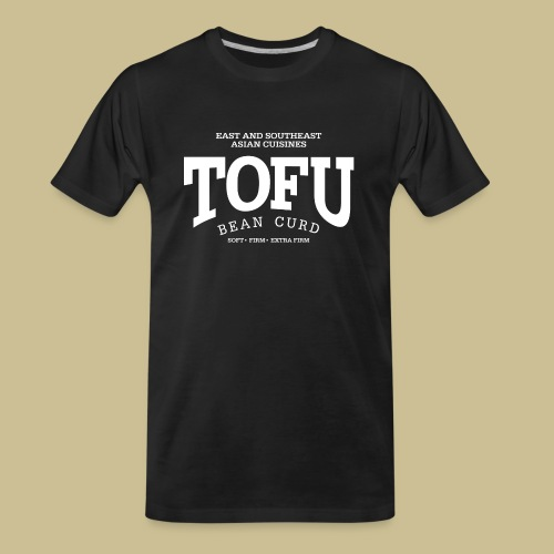 Tofu (white) - Men's Premium Organic T-Shirt