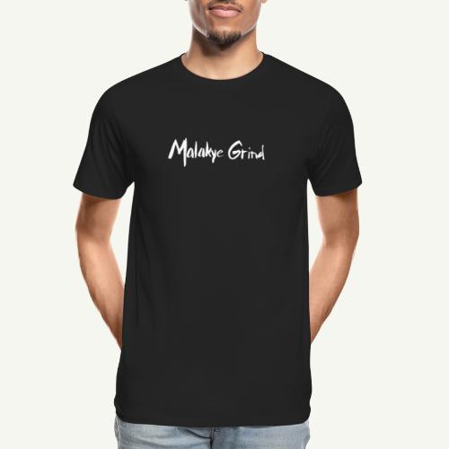 Malakye Grind Rock'n'Roll is Black Series - Men's Premium Organic T-Shirt