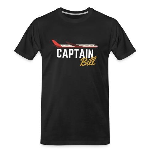 Captain Bill Avaition products - Men's Premium Organic T-Shirt