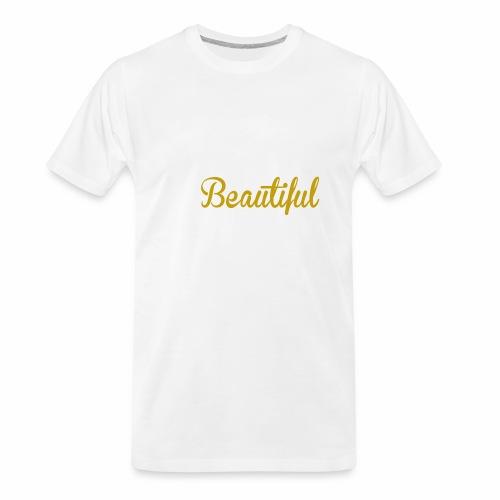 Black & Beautiful Long Sleeve Shirt - Men's Premium Organic T-Shirt