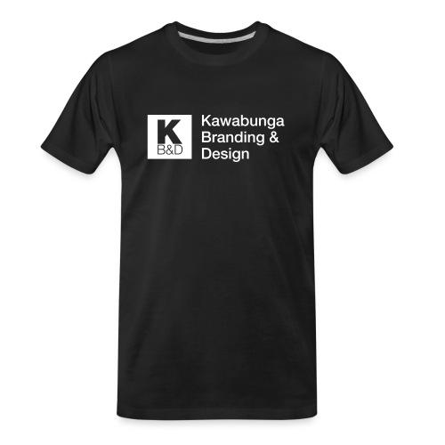 KBD Signature_blanc - Men's Premium Organic T-Shirt