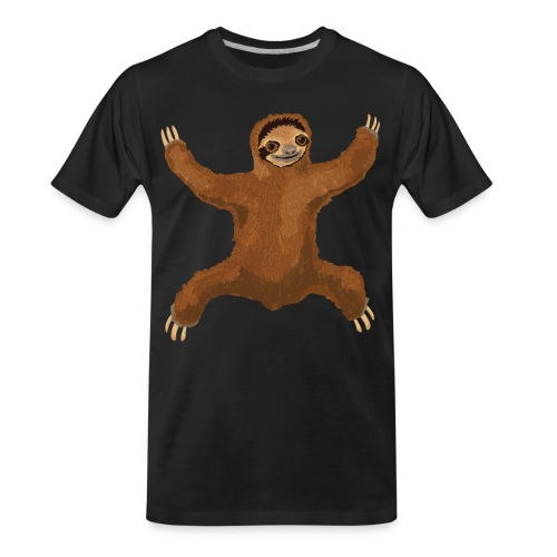 Sloth Love Hug - Men's Premium Organic T-Shirt