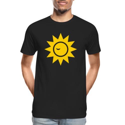 Winky Sun - Men's Premium Organic T-Shirt