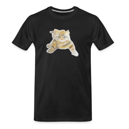 sad boy - Men's Premium Organic T-Shirt