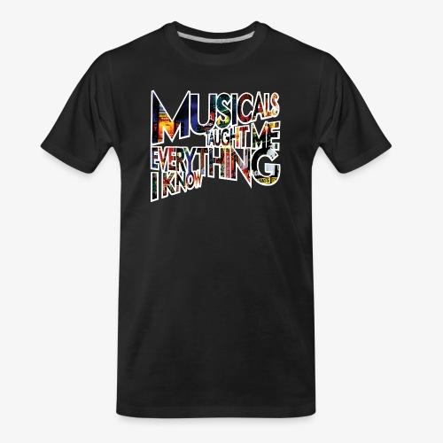 MTMEIK Broadway - Men's Premium Organic T-Shirt
