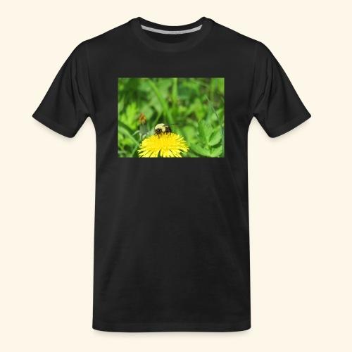 Dandelion Bee - Men's Premium Organic T-Shirt