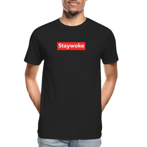 Stay woke - Men's Premium Organic T-Shirt