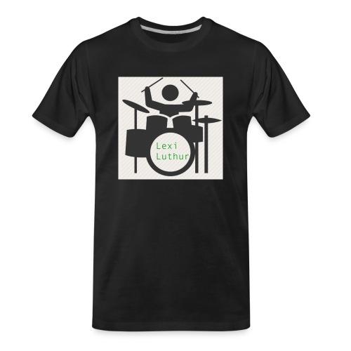 Drummer Luthur - Men's Premium Organic T-Shirt