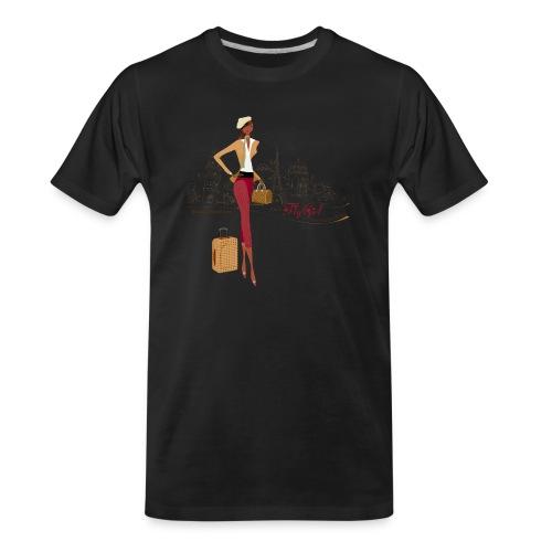 BrowOutfitPNG png - Men's Premium Organic T-Shirt