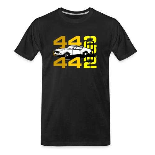 auto_oldsmobile_442_002a - Men's Premium Organic T-Shirt