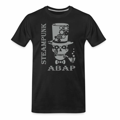 Steampunk Skull - Men's Premium Organic T-Shirt