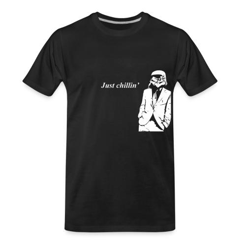Stormtrooper chillin' - Men's Premium Organic T-Shirt