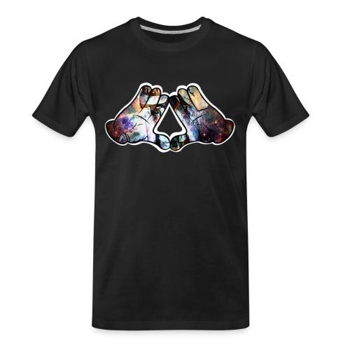 Illuminati hands - Men's Premium Organic T-Shirt