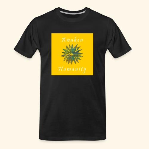 Awaken Humanity Brand - Men's Premium Organic T-Shirt