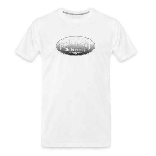 BloodShot Airbrushing Logo - Men's Premium Organic T-Shirt