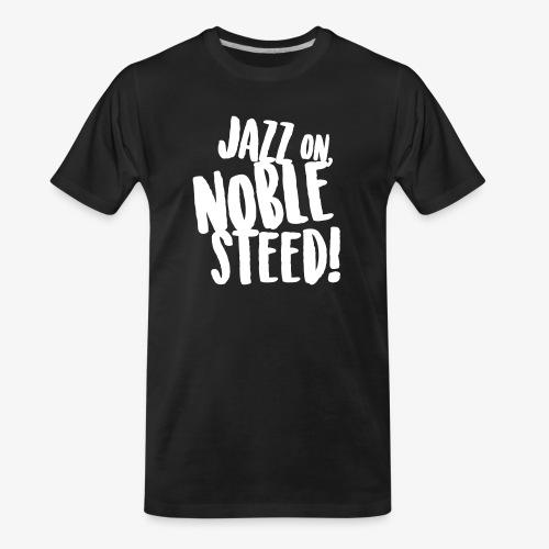 MSS Jazz on Noble Steed - Men's Premium Organic T-Shirt