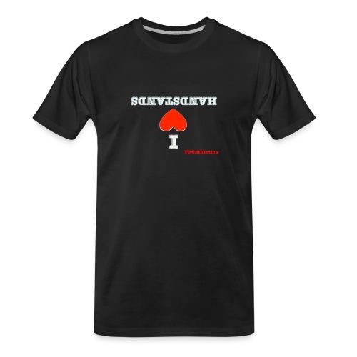 i love handstands - Men's Premium Organic T-Shirt