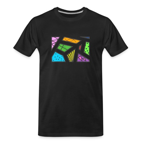 geometric artwork 1 - Men's Premium Organic T-Shirt