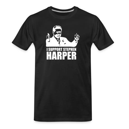 I Support Stephen Harper - Men's Premium Organic T-Shirt