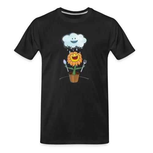 Cloud & Flower - Best friends forever - Men's Premium Organic T-Shirt